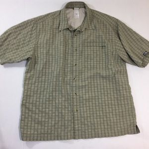 Men's The North Face Vented Button Front Shirt L
